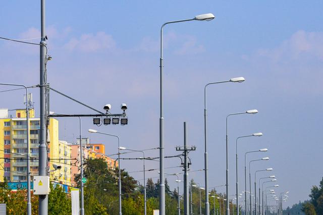 V ulicích Plzně už je 173 kamer. Nové jsou hlavně na Lochotíně; na Karlovarské a Studentské jsou panoramatické