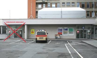 Fakultní nemocnice Plzeň otvírá nový urgentní příjem na Lochotíně ve vchodě C