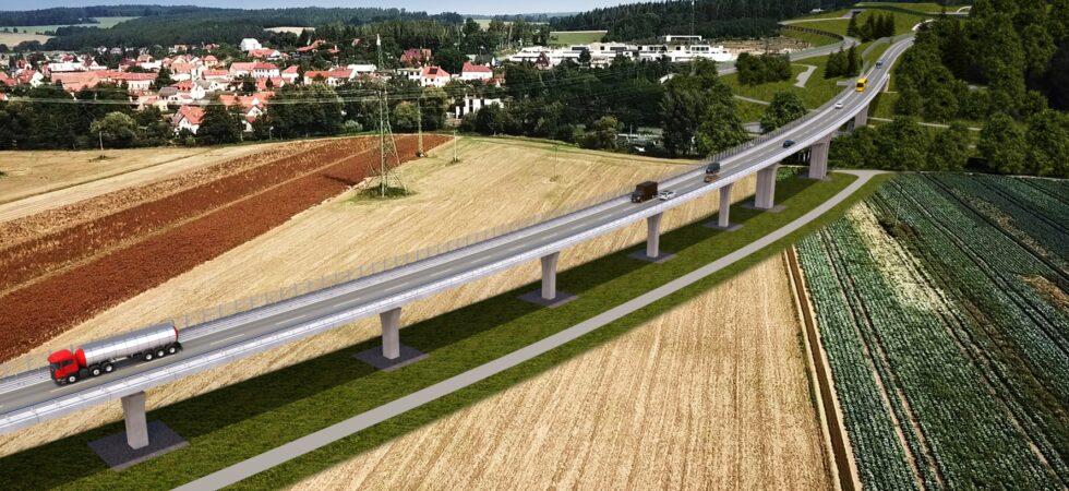 Za 34 měsíců začneme jezdit po plzeňském městském okruhu mezi chebskou a karlovarskou výpadovkou